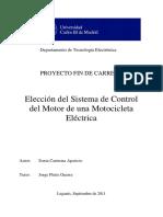Analisis de Los Sistemas de Control de Una Motocicleta Electrica