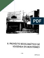 'Vivienda en Monterrey Con Principios de Diseñ..