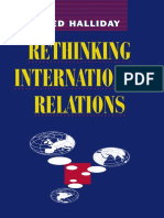 Fred Halliday (Auth.)-Rethinking International Relations-Macmillan Education UK (1994)