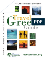 Travel Green Guide 2009