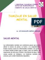 Tamizajes en Salud Mental