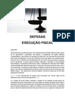 Defesas - Execução Fiscal