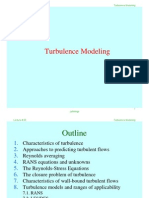 Lecture # 05 Turbulence Modelling