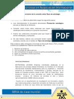 Evidencia 2 Conclusion de La Consulta Sobre Tipos de Estrategia