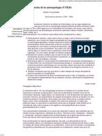 5. Historia de La Antropología - Particularismo Historico