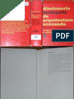 Diccionario Metapolis de Arquitectura Avanzada