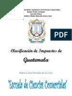 Impuestos de Guatemala Marta