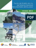 Factor de Emisión 2013 PUBLICADO