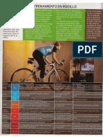 Entrenamiento de Rodillo para bicicleta