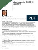 ¿Qué implica implementar COSO III en una organización Nov._ 2016.pdf