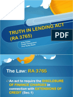 Truth in Lending Act Erika