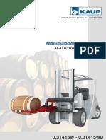 Manipulador de Barriles 0.3T415W