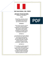 Himno Nacional de Peru