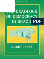 Barry Ames-The Deadlock of Democracy in Brazil (2001)