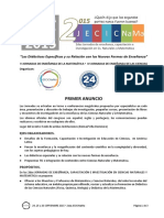 2JECICNaMa2015 Primer.anuncio
