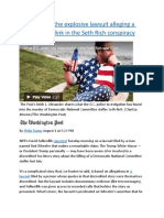 A timeline of the explosive lawsuit alleging a White House link in the Seth Rich conspiracy.docx