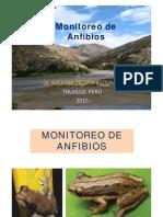 Clase Monitoreo de Anfibios 1