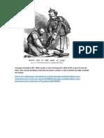 Giuseppe Garibaldi Caricatura Revista PUNCH
