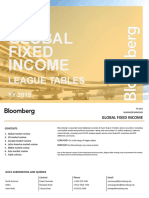 Bloomberg Global Fixed Income League Tables 2015