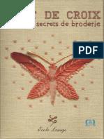 Magazine Point de Croix Et Autres Secrets de Broderie
