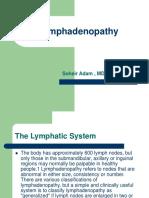 32577 Lymphadenopathy