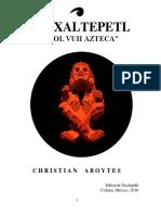 Copia de Amoxaltepetl, El Popol Vuh Azteca