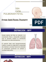 Induccion Madurcion Pulmonar Fetal
