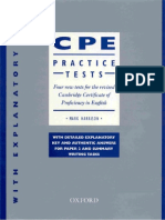 CPE Practice Tests Harrison Oxford