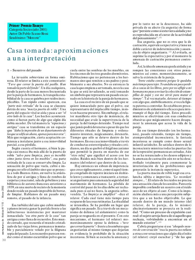 Casa tomada - Aproximaciones a una interpretación.pdf