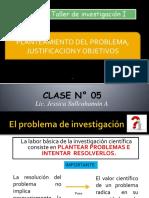 Ppt Sesion 5. Planteamiento Del Problema, Objetivos y Justificacion