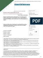 Efeito de Diferentes Substratos Na Produção de Alface Aquaponic Associadas Com a Agricultura Intensiva Tilápia Com Sistemas de Recirculação de Água