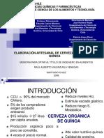 125433102 Elaboracion Artesanal de Cerveza Organica de Quinoa2007 Pptx