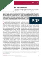 Multiscale Metallic Metamaterials - 10.1038@Nmat4694