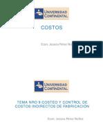 PPT COSTOS S 9-10 -Costeo y Control de Costos