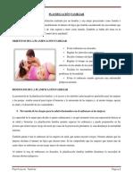 Planificación Familiar- Trabajo Faby