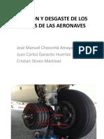 Fricción y Desgaste de Los Frenos de Las Aeronaves