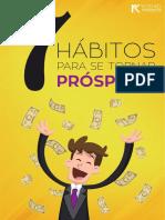 7 Habitos Para Se Tornar Prospero