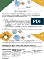 Guía de Actividades y Rúbrica de Evaluación - Fase 0 - Contextualización - Actividad de Reconocimiento