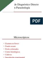 09 Metodos de Diagnostico Directo en Parasitologia