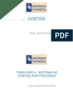 PPT COSTOS S 11-12- Costeo Por Procesos
