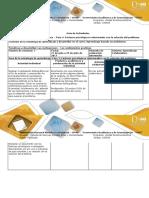 Guía de Actividades y Rúbrica de Evaluación - Fase 4 - Factores Psicológicos Relacionados Con La Solución Del Problema