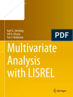 Multivariate Analysis With LISREL