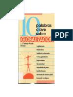 TAMAYO ACOSTA, J. J. (Ed), 10 Palabras Claves Sobre Globalización,  2004
