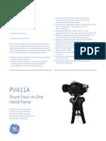 Druck Pv411 Datasheet