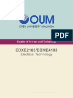 EDXE2103_EBME4103 Electrical Technology