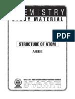 AIEEE Class XI Chem Structure of Atom