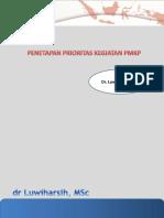 2. .Penetapan Prioritas Dalam Program PMKP