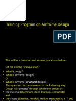Design Introduction Airframe