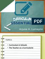 _Curriculum Essentials (Lumayno)