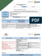 PLAN de CLASES Reconocimiento Del Sistema Numérico.